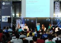 SEBRAE / Campus Party - São Paulo - data: 28/01/2016 - SEBRAE na Campus Party. Palerstra de André Spínola, do Sebrae. Foto: Luiz Prado / LUZ